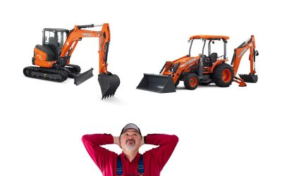 How Mini-Excavators Killed Off Backhoes