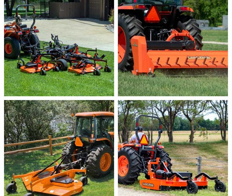 Land Pride Mowers - Flail, Grooming, All Flex, Rotary