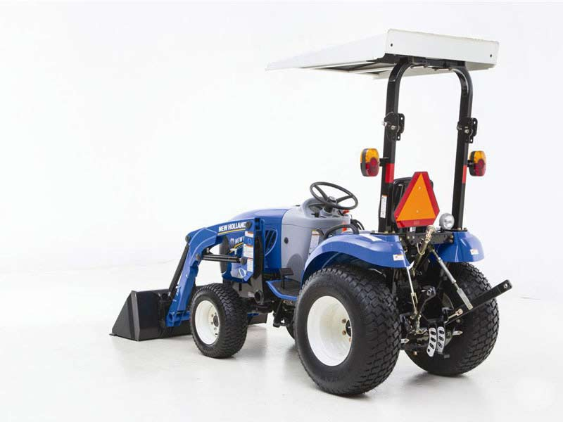 New Holland Compact Tractor Boomer 24 HP Rear